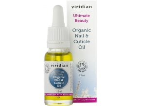 Organic Nail & Cuticle Oil 12ml