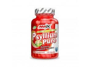 Psyllium Husk vláknina 1500 mg 120 kapslí