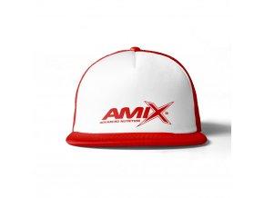 Amix kšiltovka - červená