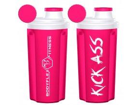 shaker kick ass pink
