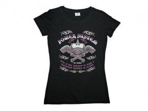 Dámské tričko HEART BREAKER černé PS 8005 B