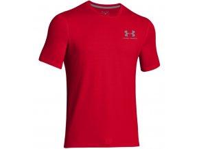 tričko under armour červené 1
