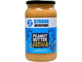 arašídové máslo strong