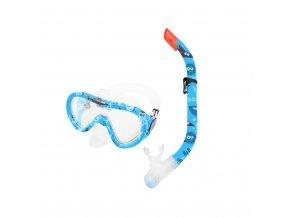 šnorch brýle modré