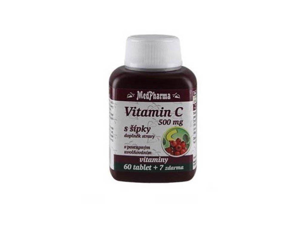 MEDPHARMA VITAMÍN C 500 mg, 67 tbl.