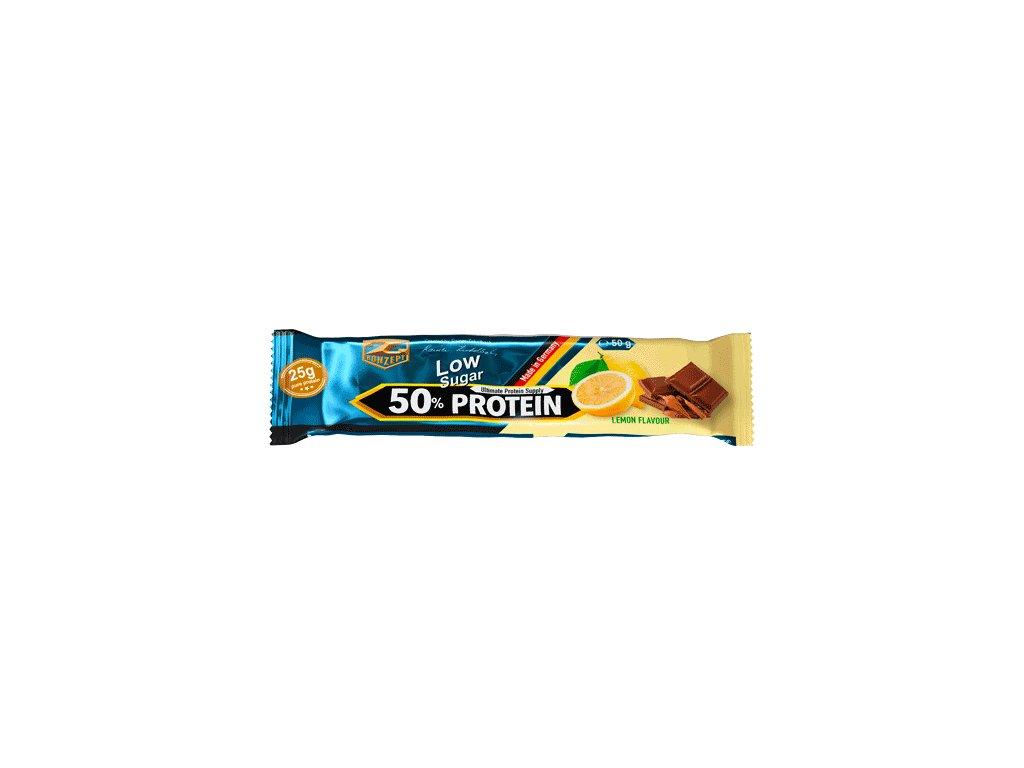Z-KONZEPT NUTRITION TYČINKA 50% PROTEIN BAR 50g