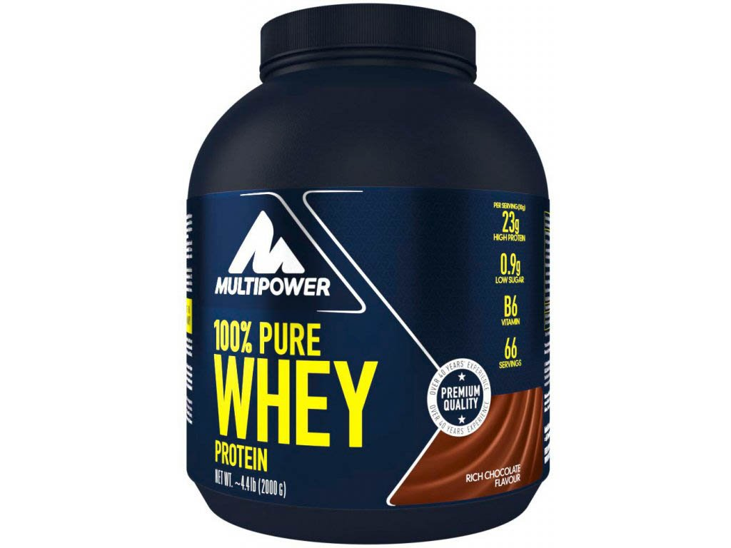 100 pure whey protein 2000g rich chocolate