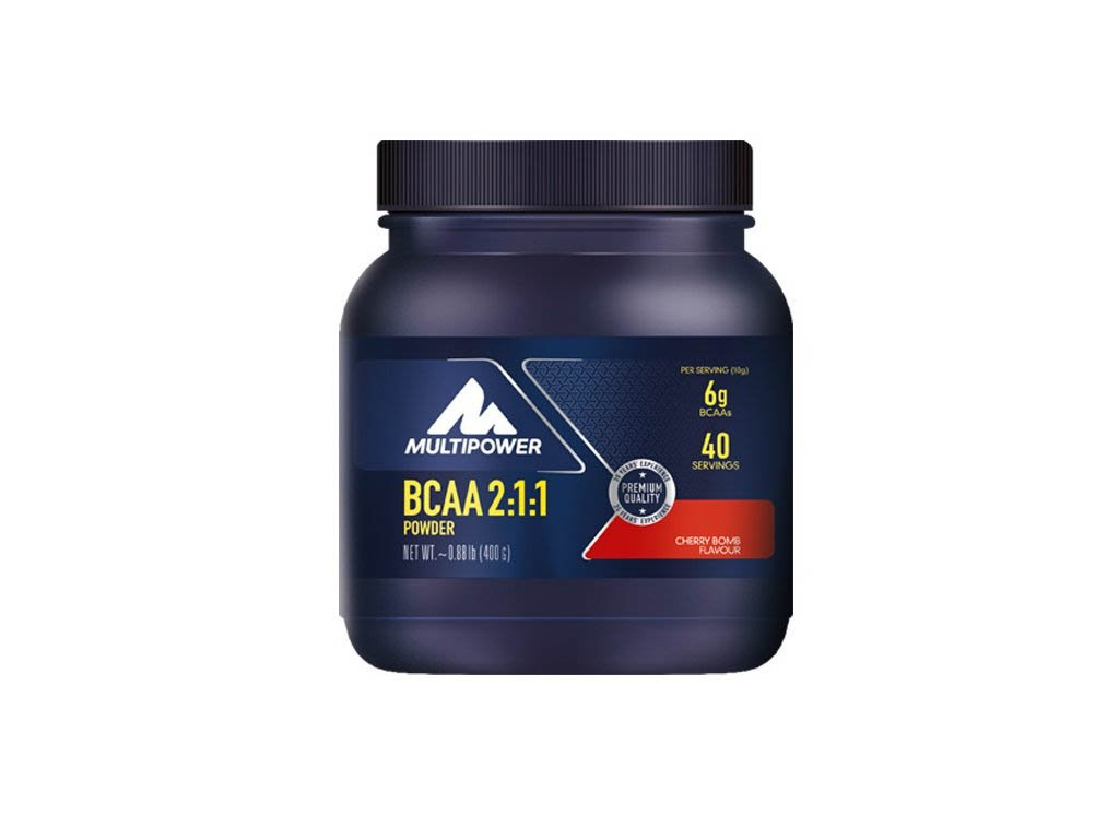 MULTIPOWER BCAA 2:1:1 POWDER 400g - esenciální aminokyseliny