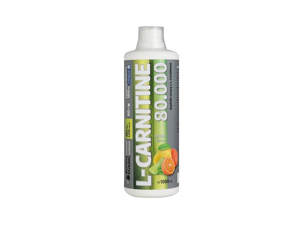WELLNES FOOD L-CARNITINE 80000 liquid 1litr citrus - karnitin