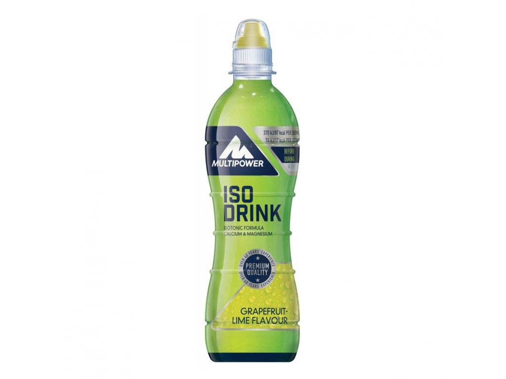MULTIPOWER ISO DRINK 500ml - hotový isotonický nápoj