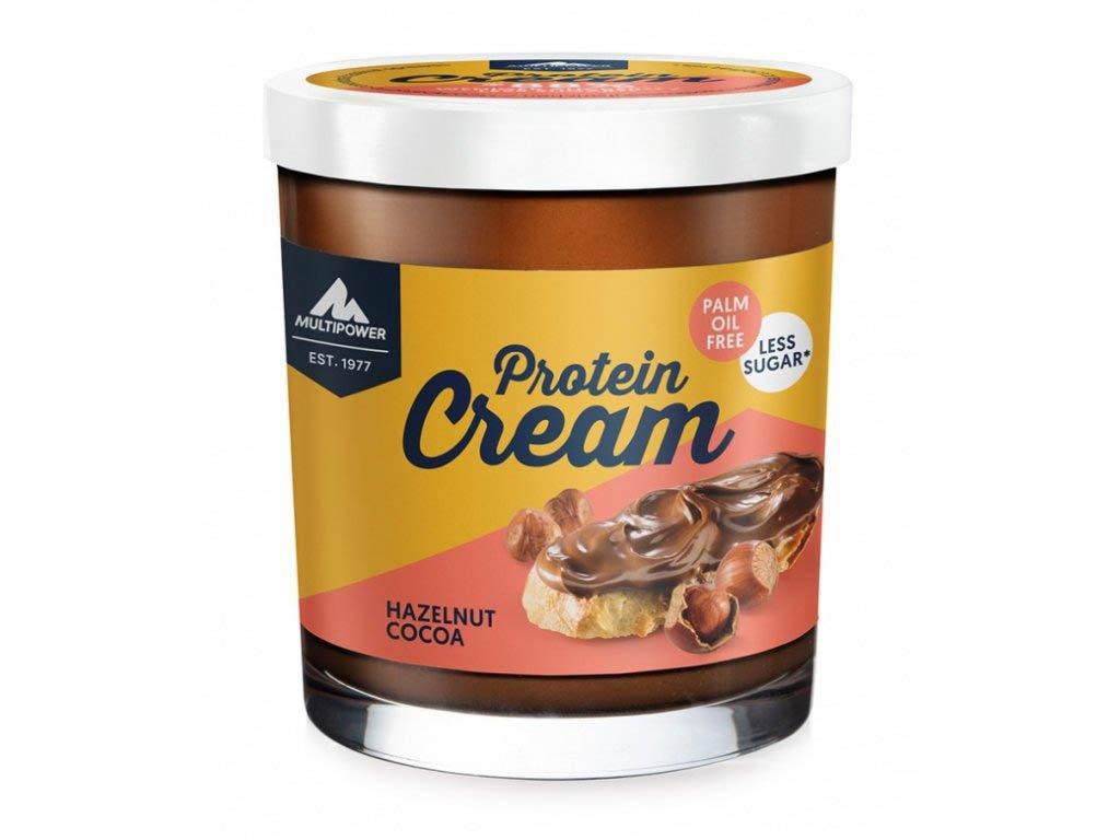 MULTIPOWER PROTEIN CREAM 200g lískový ořech kakao