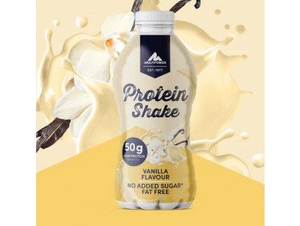 MULTIPOWER 50g HIGH PROTEIN SHAKE 500ml hotový proteinový nápoj čokoláda
