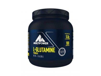 MULTIPOWER L-GLUTAMINE POWDER 500g - aminokyselina L-glutamín