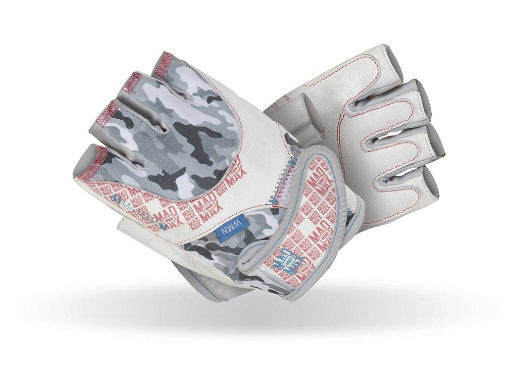 MADMAX rukavice No Matter white