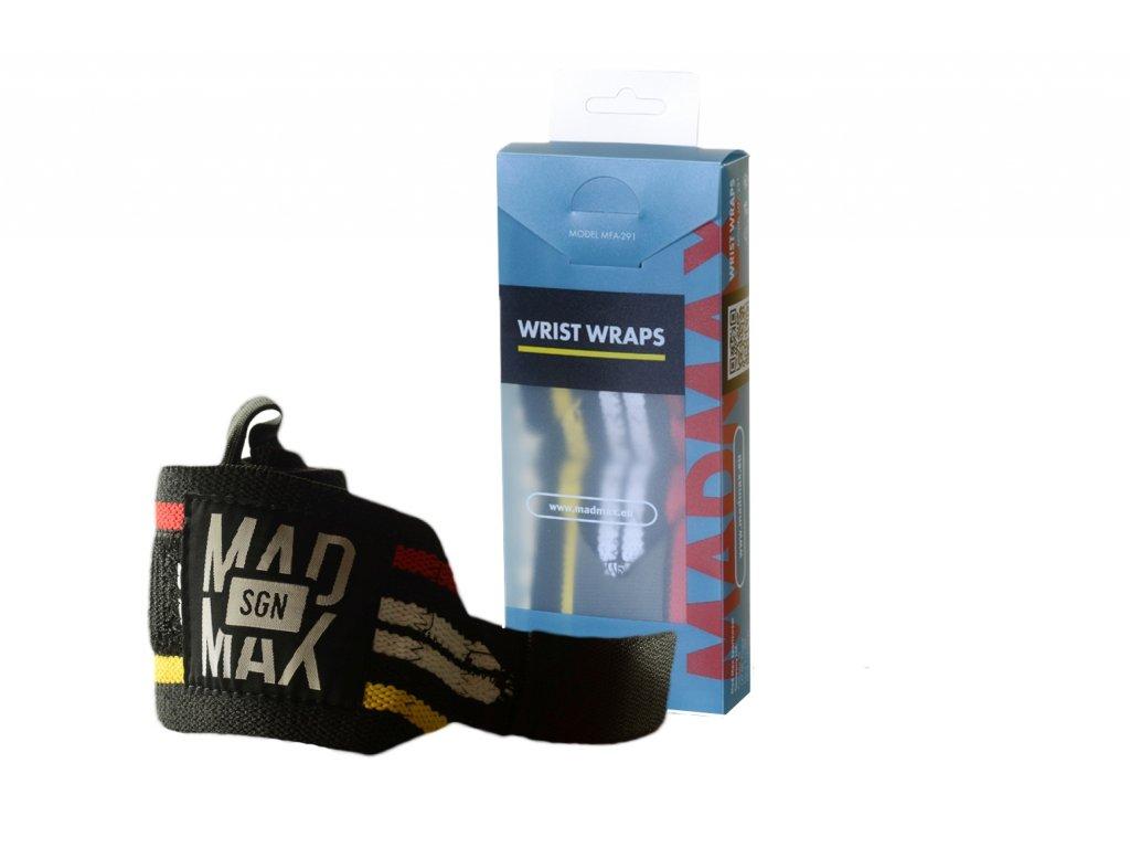 MADMAX Elastické bandáže zápěstí
