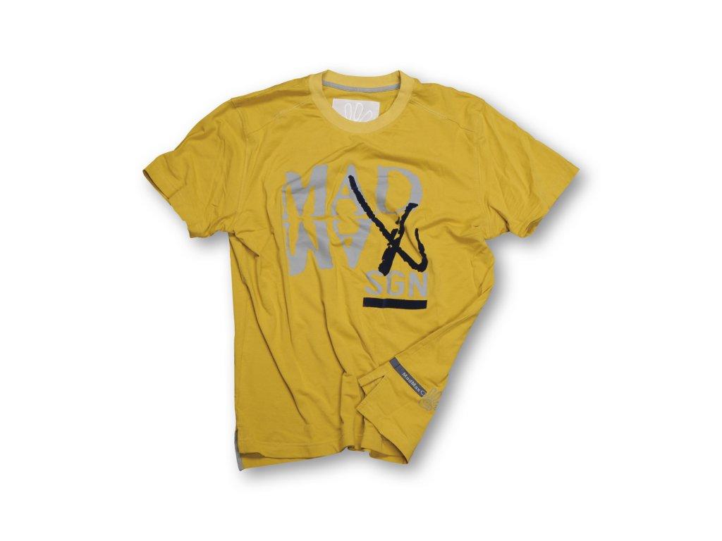 MADMAX triko X-Style Tee Yellow