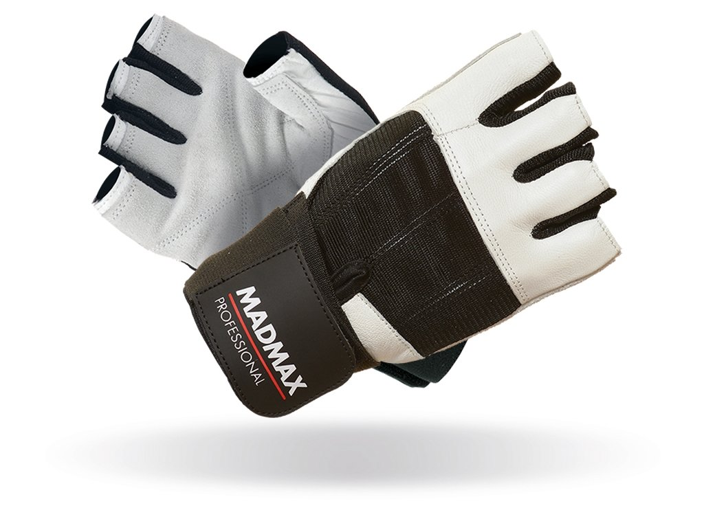 MADMAX rukavice Professional White