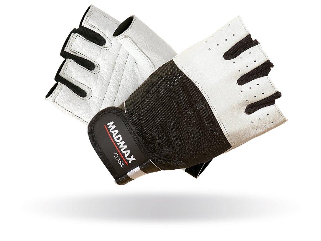 MADMAX rukavice Clasic White