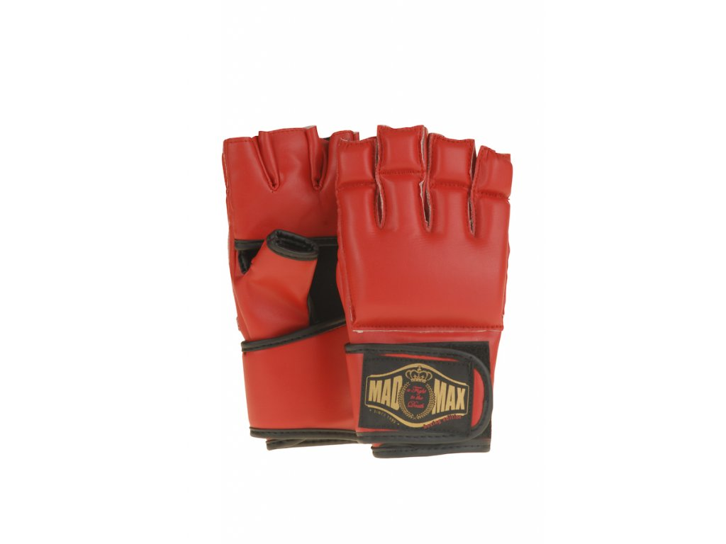 MADMAX boxerské rukavice Full Contact Red