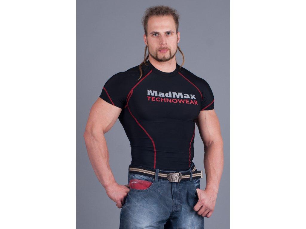 MADMAX Compresswear triko červené