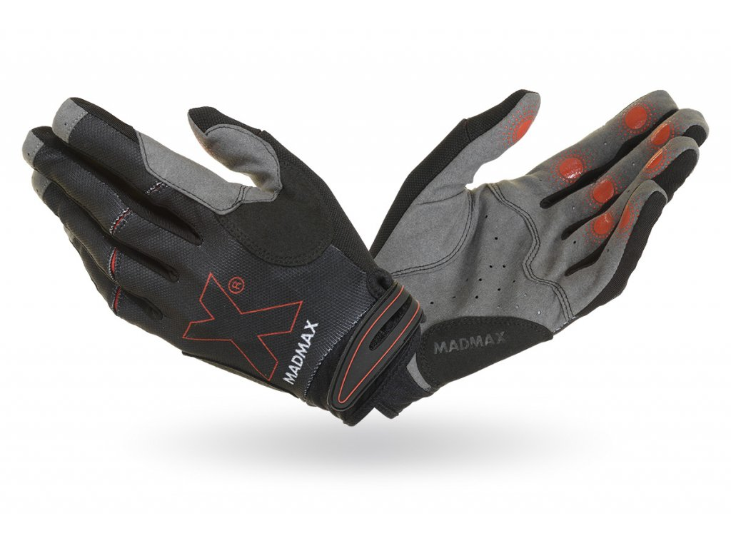 MADMAX X Gloves Black crossfitové rukavice