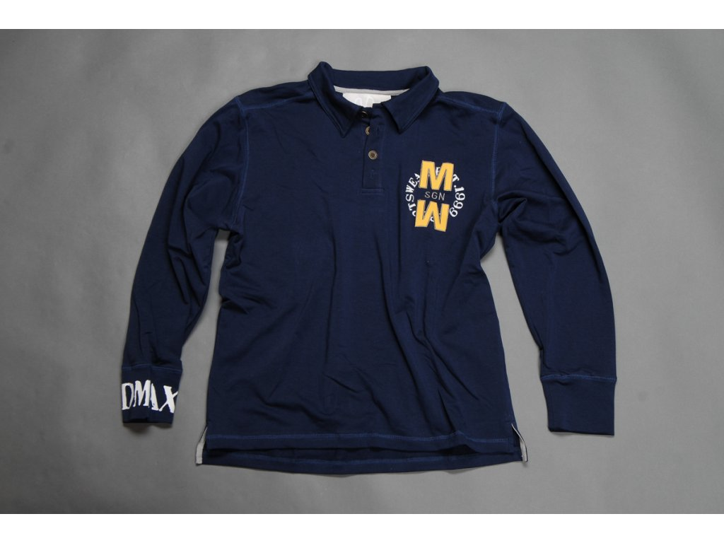 MADMAX Polo Long Sleeve Navy