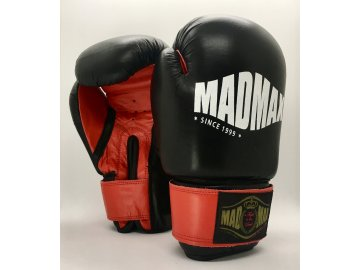 MADMAX boxerské rukavice kožené