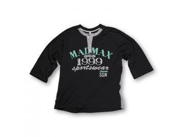 MADMAX triko 1999 Cut Sleeves Tee Black