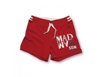 MADMAX kraťasy Rib Shorts Red