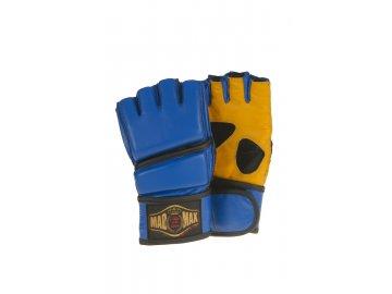 MADMAX boxerské rukavice Full Contact kožené