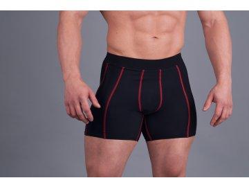 MADMAX Compresswear šortky červené