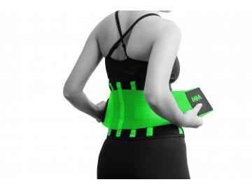 MADMAX Slim Belt Back green