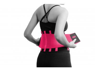 MADMAX Slim Belt Back pink