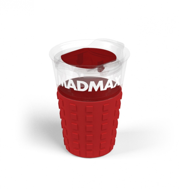 Cestovní hrnek MADMAX Barva: rudá