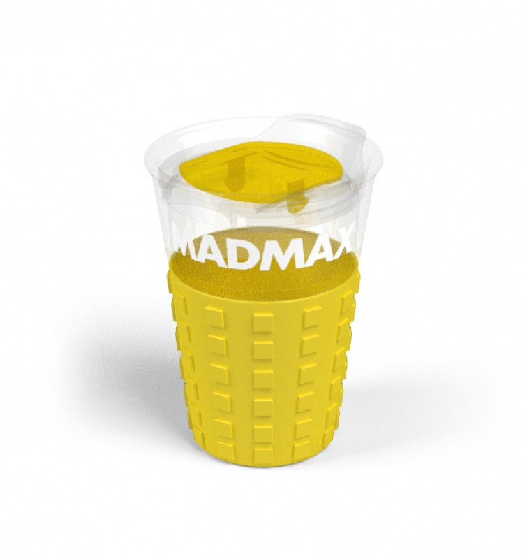 Cestovní hrnek MADMAX Barva: žlutá