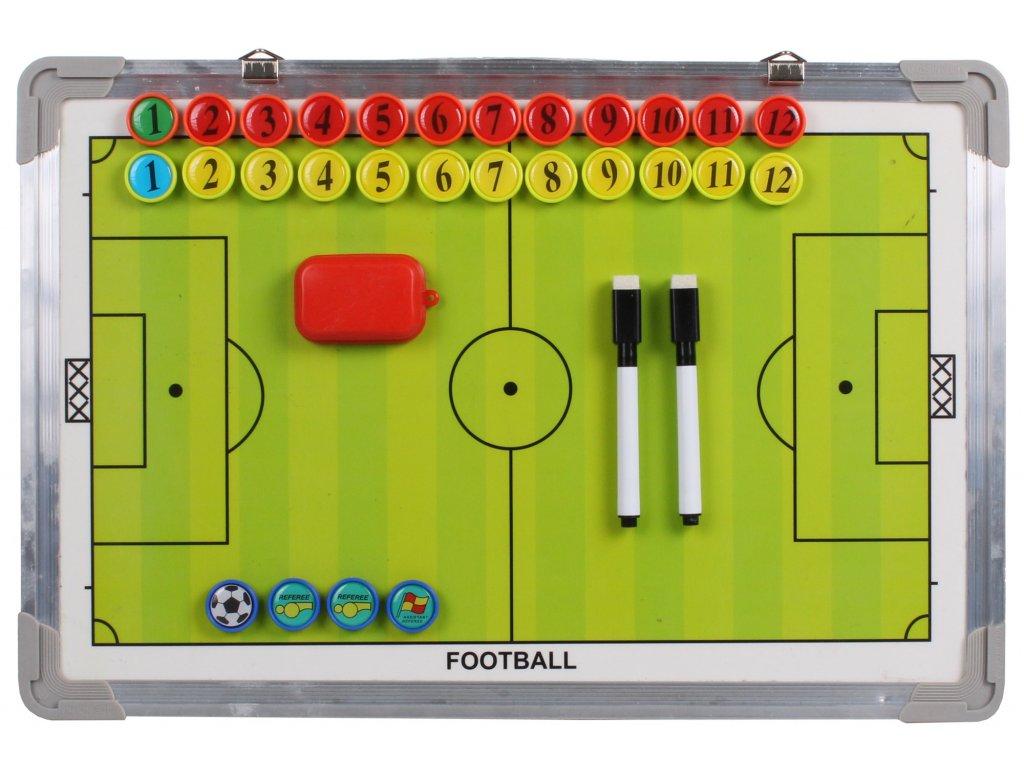 Futbal 40                                                              magnetická trenerská tabuľa 45 x 30 cm, závesná