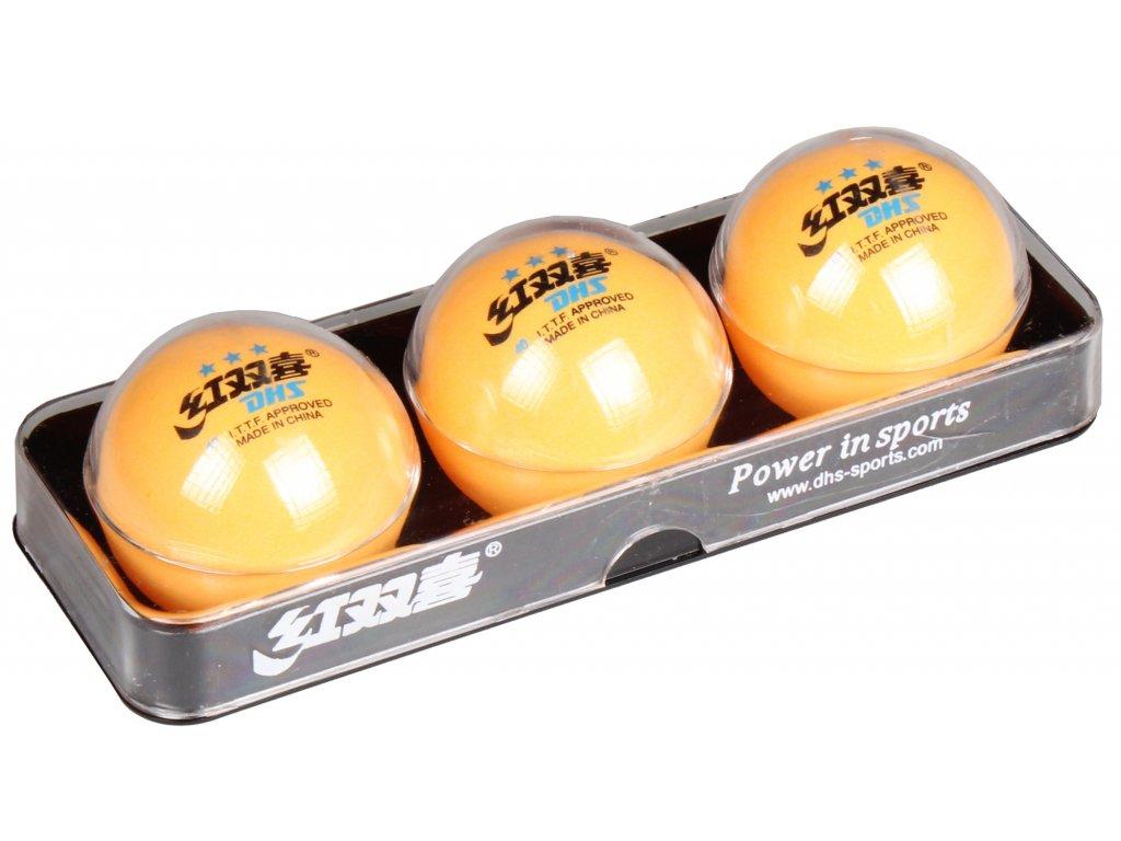 loptičky na stolný tenis Super 3 hviezdy                               sada 3ks
