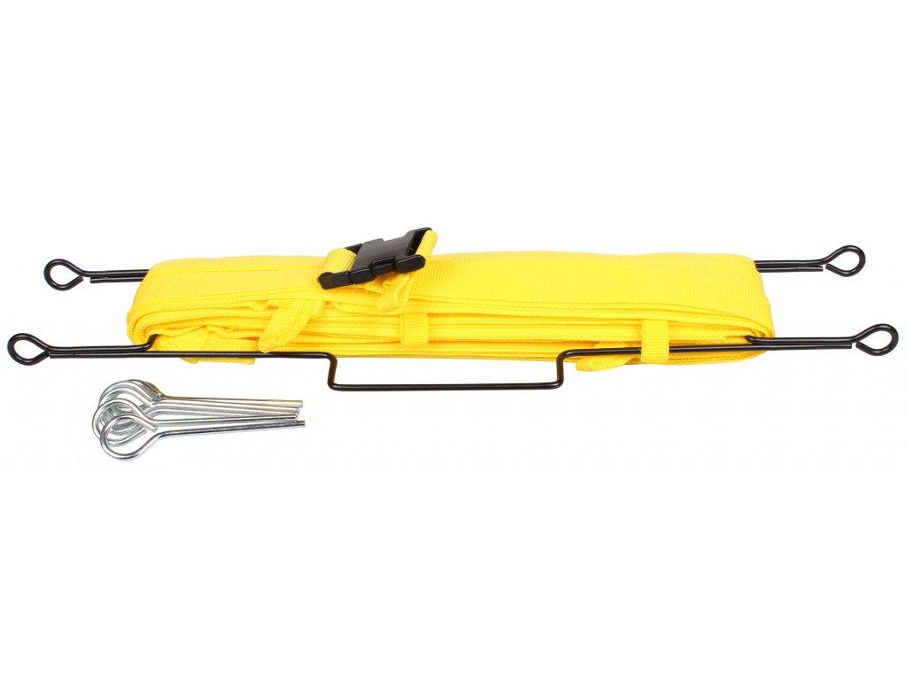 lajny na badmintonový kurt 13,4 x 6,1m                                 s ukotvením