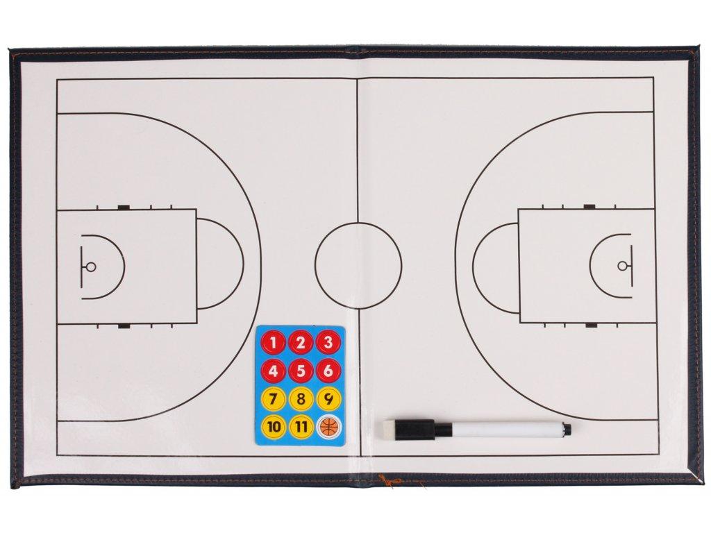 Basketbal 41                                                          magnetická trenerská tabuľa