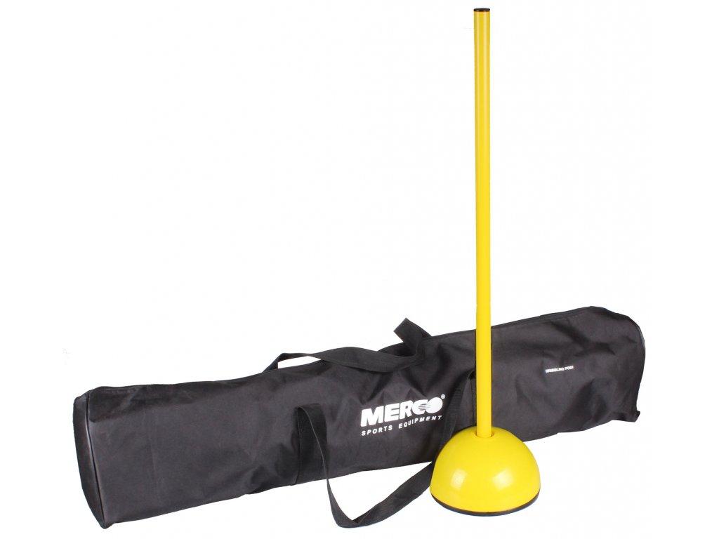 Merco 10x tyč slalomová Dribbling 80 cm vrátane tašky