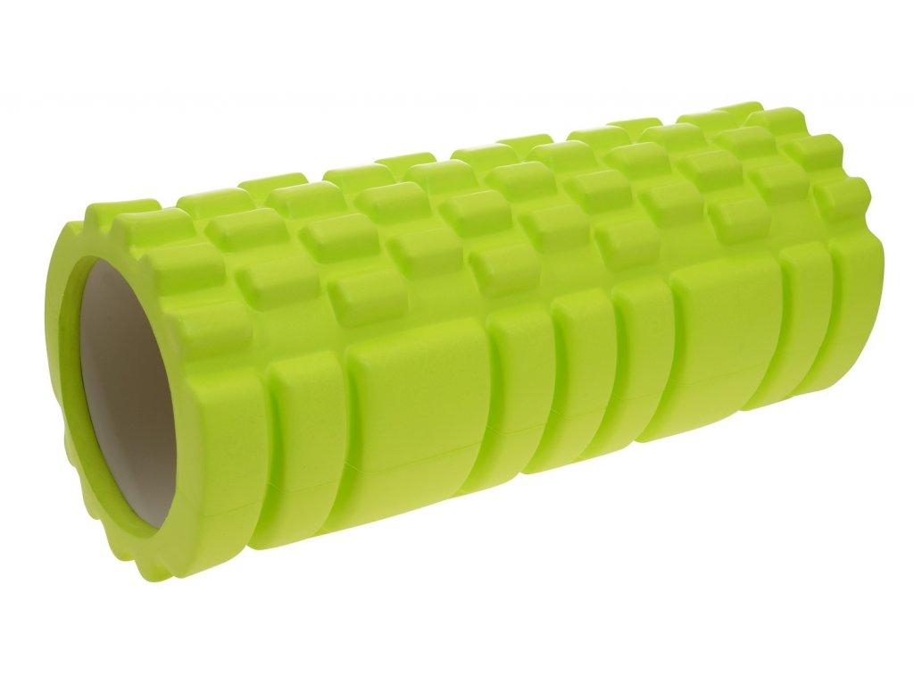 Masážny valec LIFEFIT JOGA ROLLER A01 33x14cm, zelený
