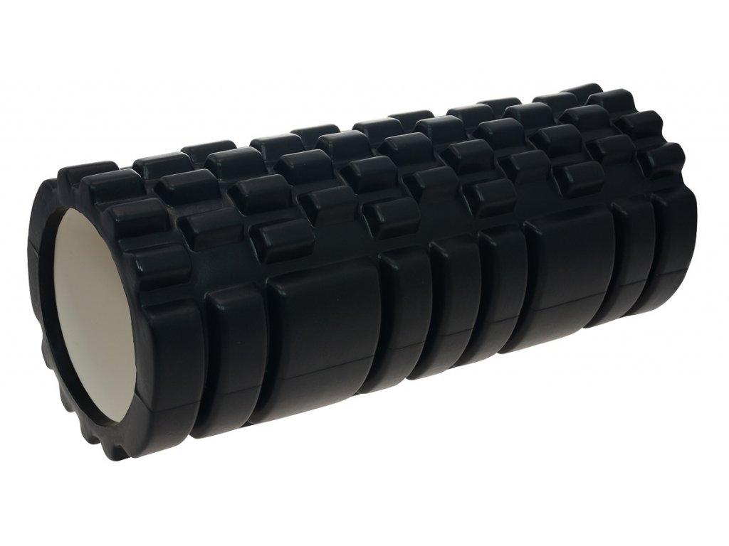 Masážny valec LIFEFIT JOGA ROLLER A01 33x14cm, čierny