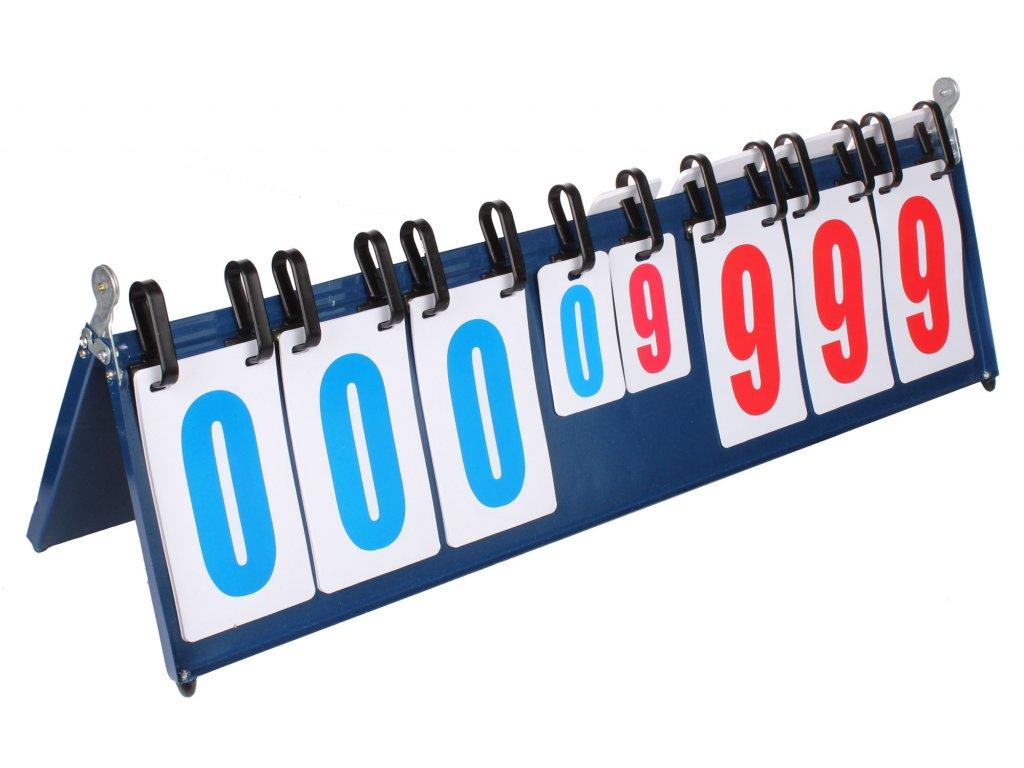 Allscore III ukazovateľ skóre 0-999 bodov / 0-9 setov