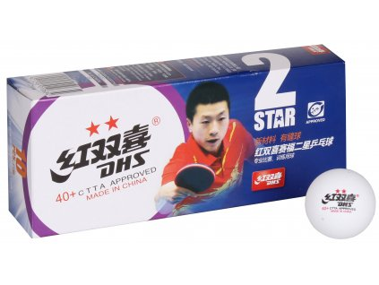 loptičky na stolný tenis 40+ 2 hviezdy                                 sada 10ks, plastové