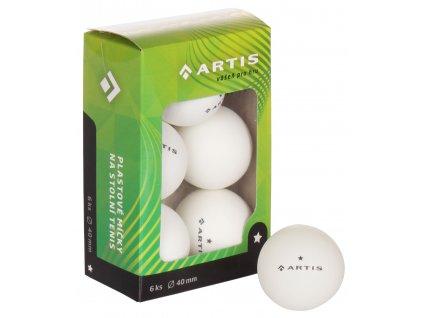 Artis 1 hviezda loptičky na stolný tenis
