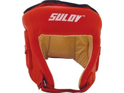 Box chránič hlavy otvorený SULOV DX - červený