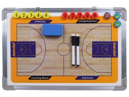 Basketbal 43                                                           magnetická trenerská tabuľa, závesná