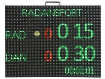 Scoreboard elektronický ukazovateľ skóre