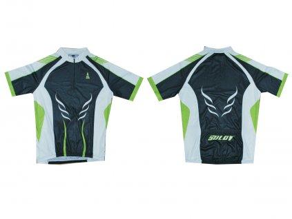 Cyklistický dres SULOV 1, zelený
