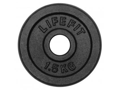 Kotúč LIFEFIT 1,5kg, kovový, pre 30mm tyč
